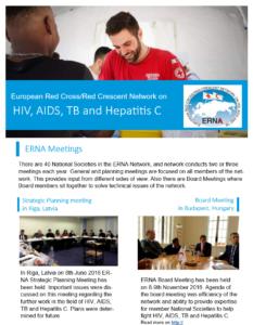 ERNA Red Cross Newsletter 2016