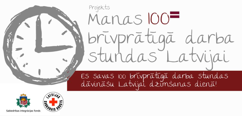 Manas 100 BD stundas Latvijai