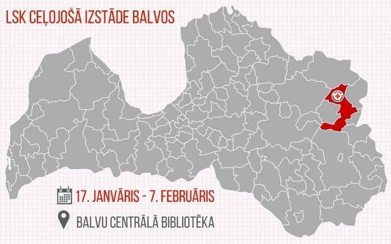 LSK izstāde Balvos līdz 7.februārim